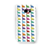 Multicoloured Dinosaurs Samsung Galaxy Case/Skin