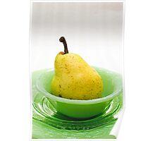 Pear Still Life Poster