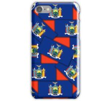 Smartphone Case - State Flag of New York - Multiple III iPhone Case/Skin