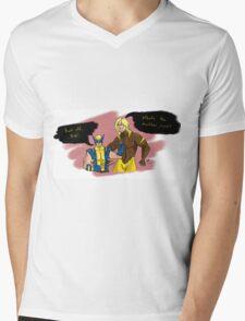 Back Off, Bub Mens V-Neck T-Shirt