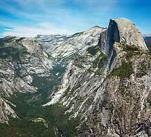Yosemite Valley - Glacier Point by Daniel Regner