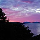 sunset on smokehouse bay by marcwellman2000