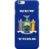 Smartphone Case - State Flag of New York - Horizontal V iPhone Case/Skin