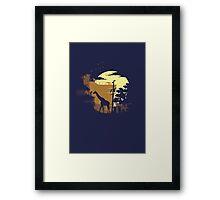 The Last of Us Ellie & Giraffe Framed Print