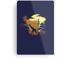 The Last of Us Ellie & Giraffe Metal Print