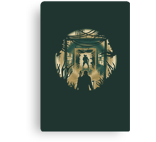 The Last of Us Cordyceps & Bloater Canvas Print