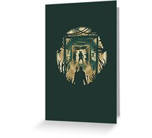 The Last of Us Cordyceps & Bloater Greeting Card