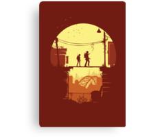 The Last of Us Plankin' Canvas Print