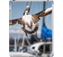 Pelican's successful lift off (in Batemans Bay/NSW/Australia) iPad Case/Skin