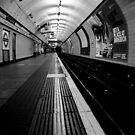 St.Pancras - The Platform by rsangsterkelly