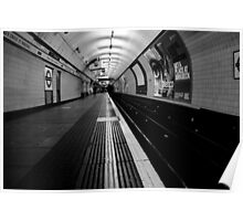 St.Pancras - The Platform Poster