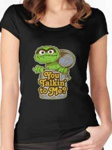 Oscar the grouch Women's Fitted Scoop T-Shirt