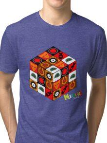 Kubrick Cube Tri-blend T-Shirt