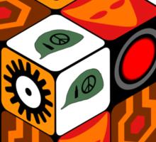 Kubrick Cube Sticker