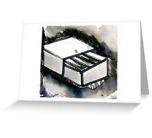 match box Greeting Card