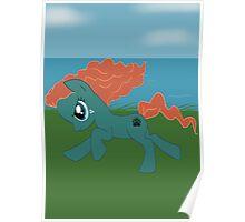 Merida Pony Poster