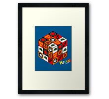 Kubrick Cube Framed Print