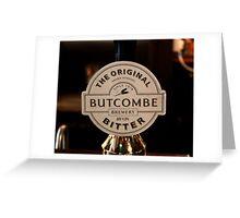 Lamb & Flag - Butcombe Brewery Bitter Greeting Card
