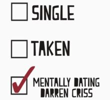 Mentally Dating Darren Criss by BethTheKilljoy