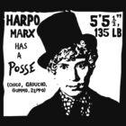 Harpo Marx Has a Posse by Lee Bretschneider