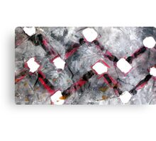 repeatsing matchsticks  Canvas Print