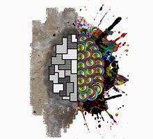Left Brain Right Brain Unisex T-Shirt