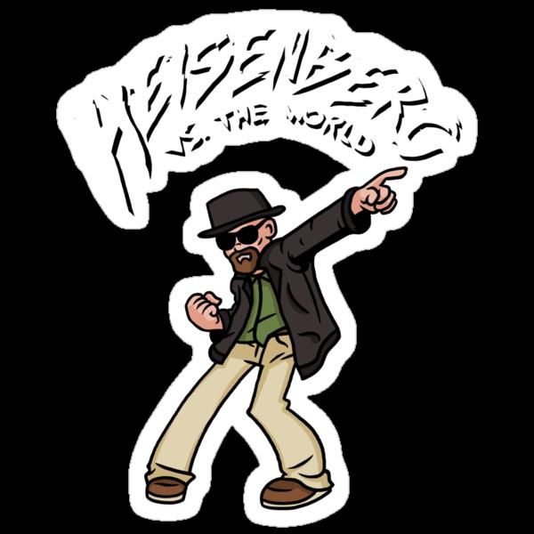 Heisenberg VS The World by Baznet
