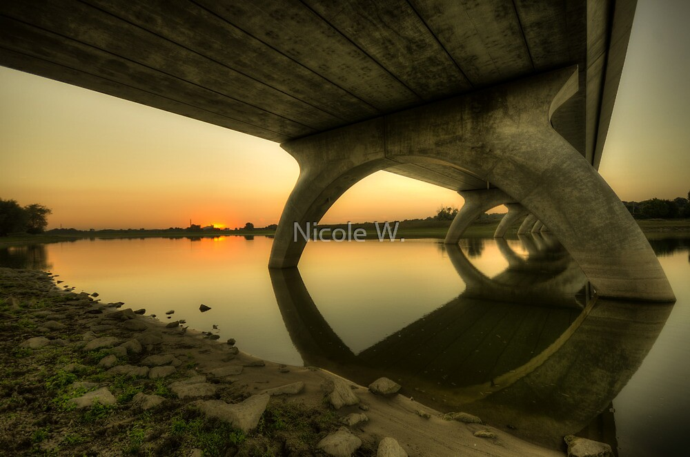 Bridge at sundown by Nicole W.