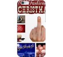 an old fashioned Christmas iPhone Case/Skin