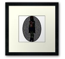 Miss Martian - Young Justice, Colored Binary Code Framed Print