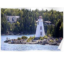 Big Tub Lighthouse Poster