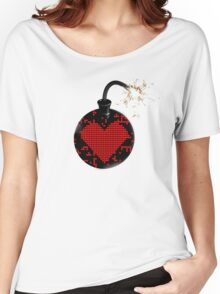 love bomb (cool) Women's Relaxed Fit T-Shirt
