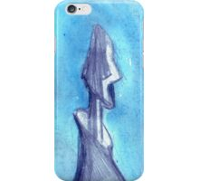 Torn by the blue sky  iPhone Case/Skin