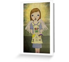 Industrial Angel Greeting Card