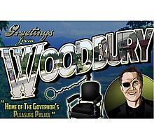 Welcome to Woodbury! Photographic Print
