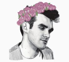 Young Morrissey Flower Crown by Crystal Friedman