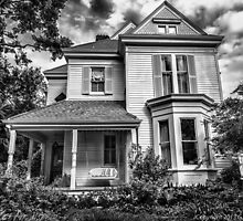 New Orleans House #50 B&W by GJKImages
