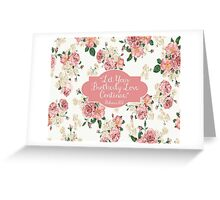 Let Your Brotherly Love Continue Design no. 10 Greeting Card