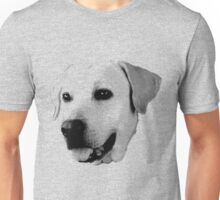 Labrador Retriever Dog Engraving Unisex T-Shirt