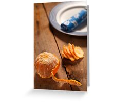 Food Still Life Greeting Card