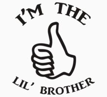 I'm The Lil Brother Kids Tee