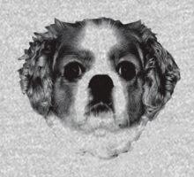 Cocker Spaniel Puppy Engraving One Piece - Short Sleeve