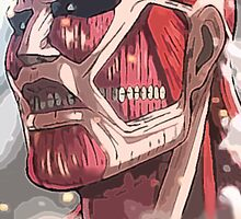 Colossal Titan by mintyjade