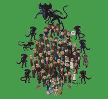 Super Aliens³ Resurrection Kids Tee