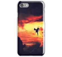 Man of Steel - Stormy Silhouette  iPhone Case/Skin
