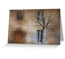 The tree out front Greeting Card