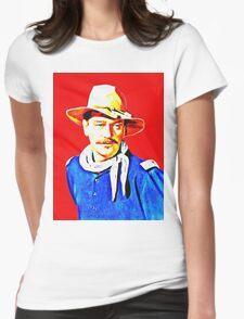 John Wayne in Rio Grande Womens Fitted T-Shirt