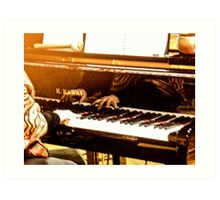 Hands That Play The Piano Art Print
