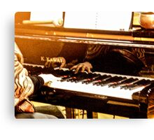 Hands That Play The Piano Canvas Print