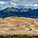 Great Sand Dunes - Morning Sun by Stephen Beattie